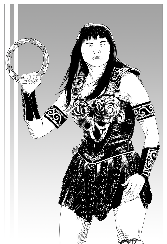 Xena: Warrior Princess by DanielGreyS