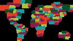 World Map Typography by DanielGreyS