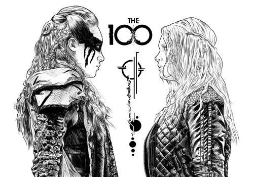 The 100 - Lexa and Clarke WIP