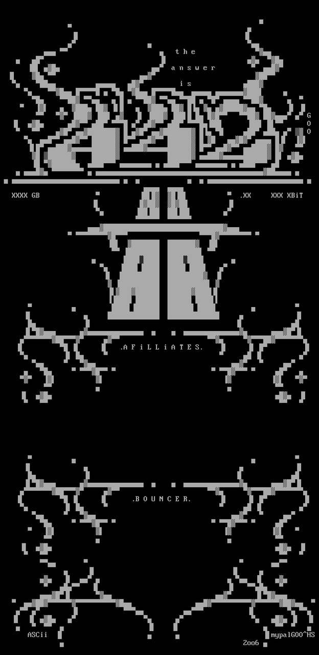 A42 ASCii