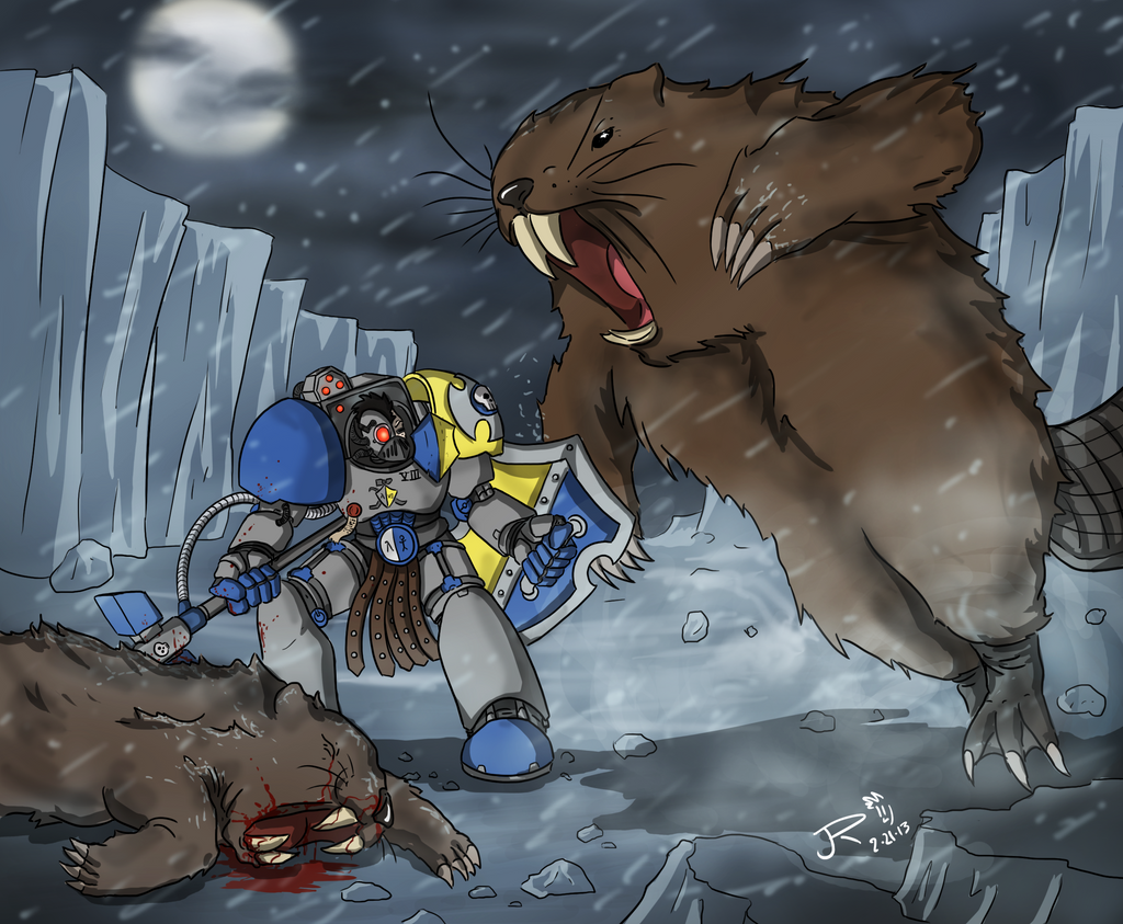 Commish: Icelandic Behemoths by JessyRuiz