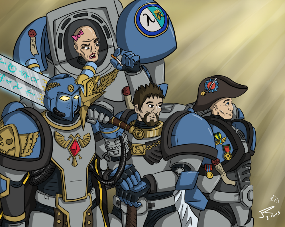 Commish: Ares and company by JessyRuiz