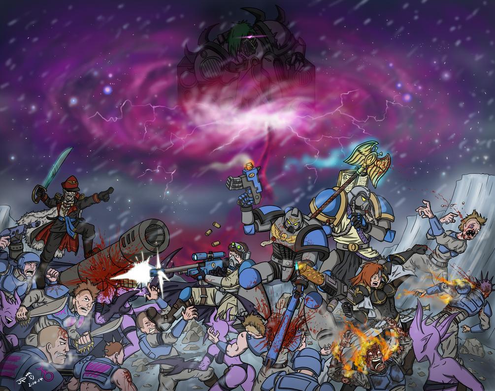 The Screaming Night (2014 update) by JessyRuiz