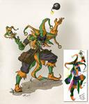 Gauntlet Jester Idea.