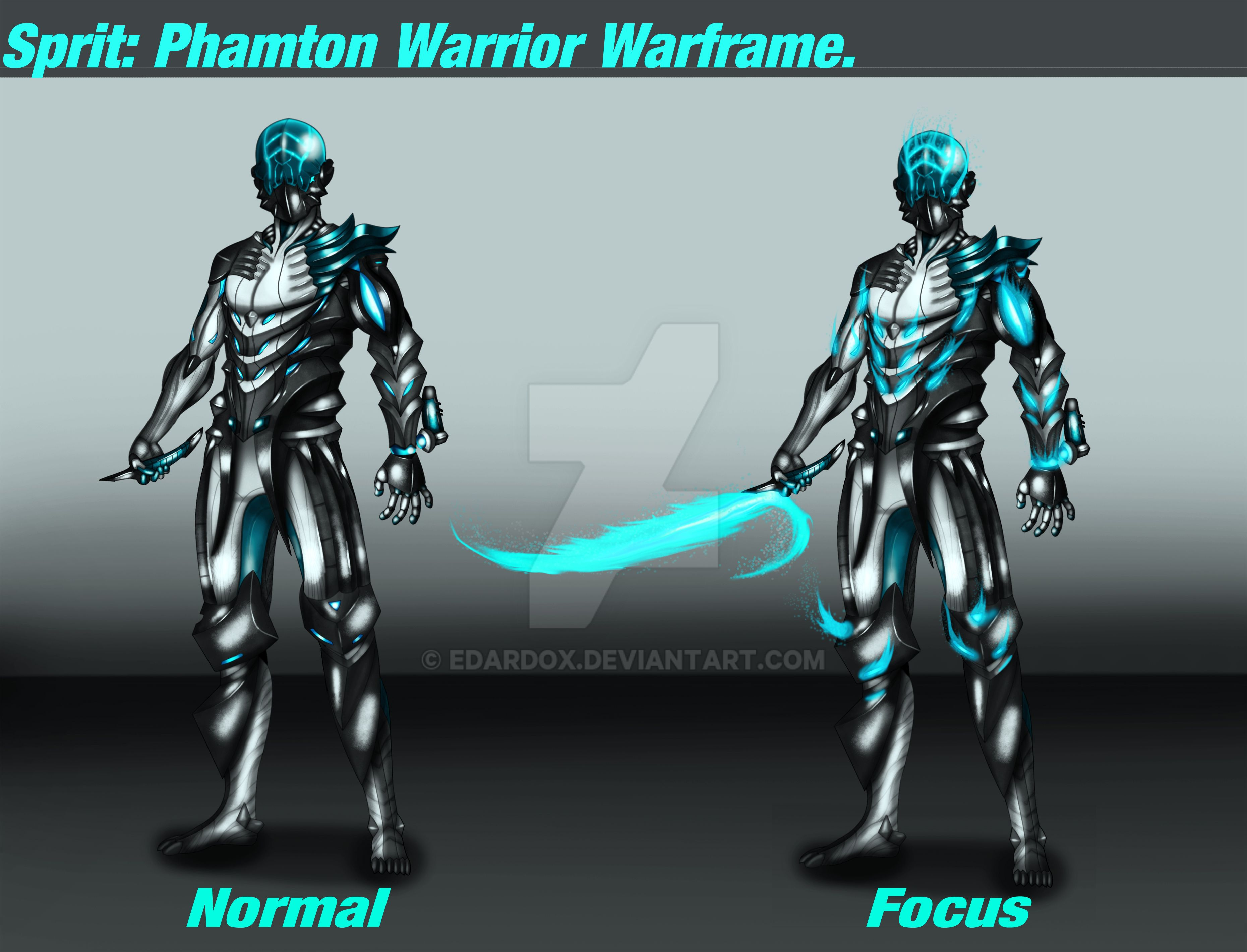 Sprit: Phantom Warrior Waframe (Geist 2 0) - Fan Concepts