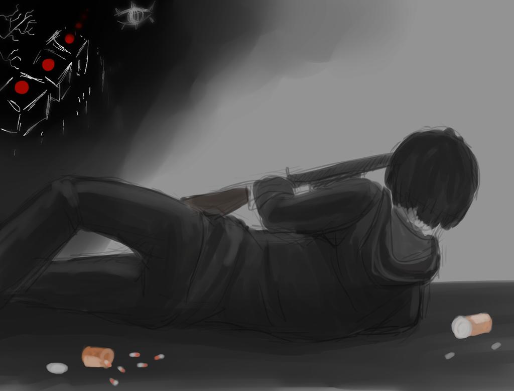 AoM suicide by Yamugavi
