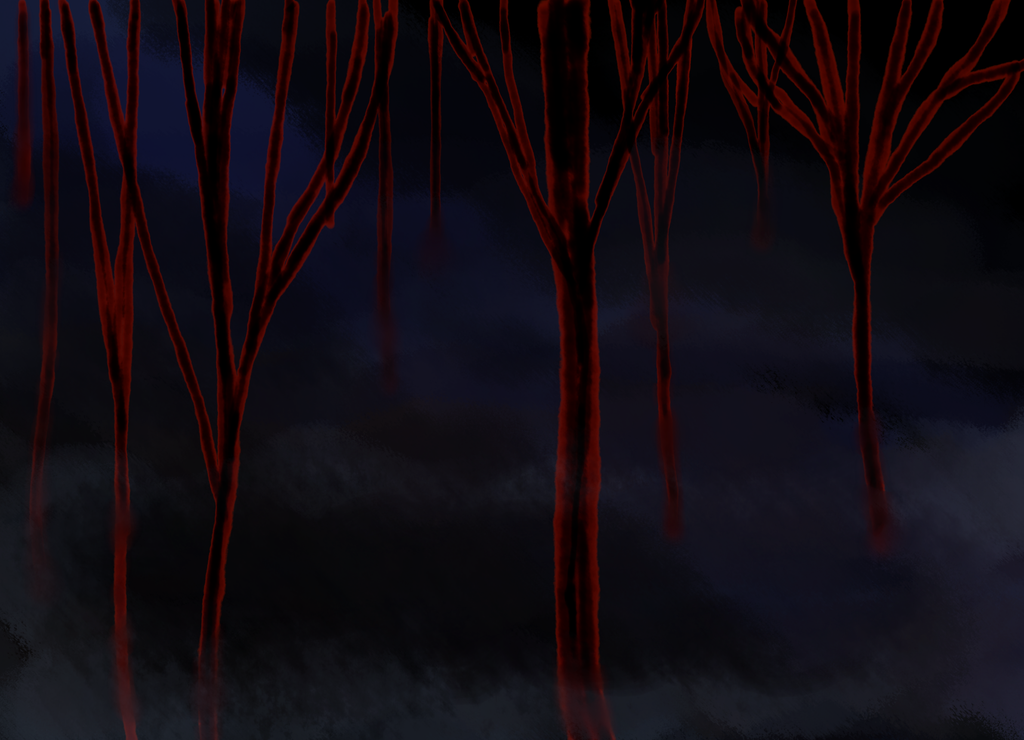 Bloody trees by Yamugavi
