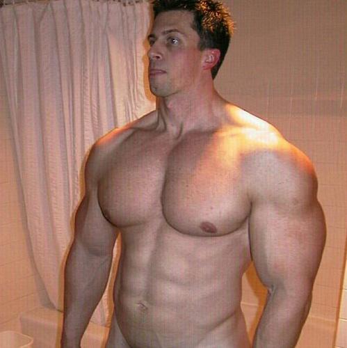 For Huge male pecs morph