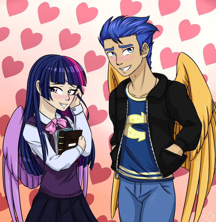 Twilight and Flash by NothingSpecialx9
