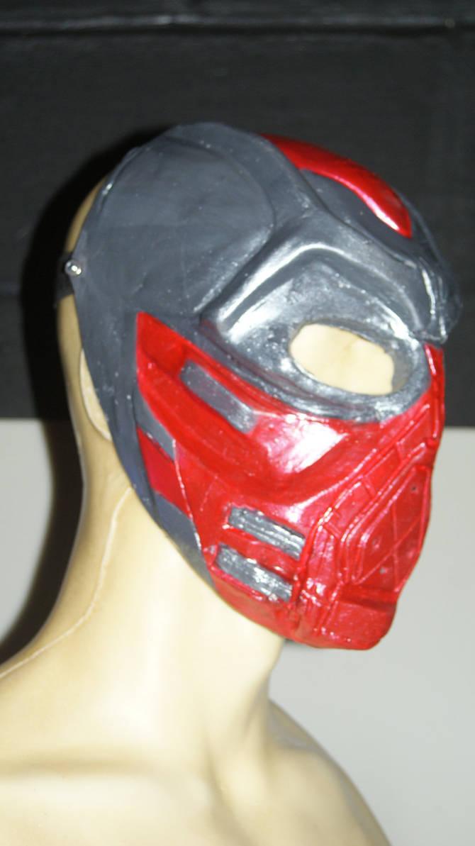 Azrael Mask: Side-view