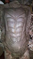 Nightwing Arkham City Chest Armor Sculpture by WayneTech-SPFX