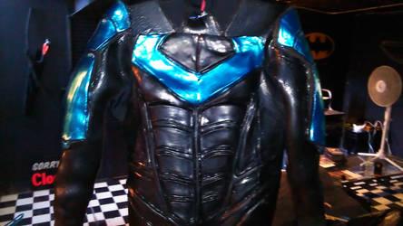 Nightwing Arkham City Armored Suit by WayneTech-SPFX