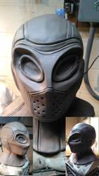 Deadshot Mask Sculpture by WayneTech-SPFX