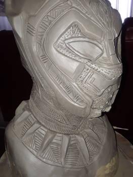 Black Panther Mask Sculpture Avengers:Infinity War