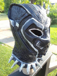 Black Panther Deluxe Mask - Avengers: Infinity War