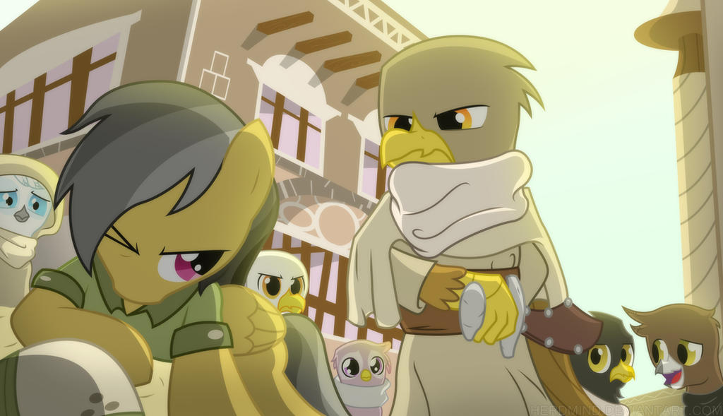 Daring Do And The Griffon's Goblet by Herdmind