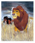 Mufasa and Scar -2008