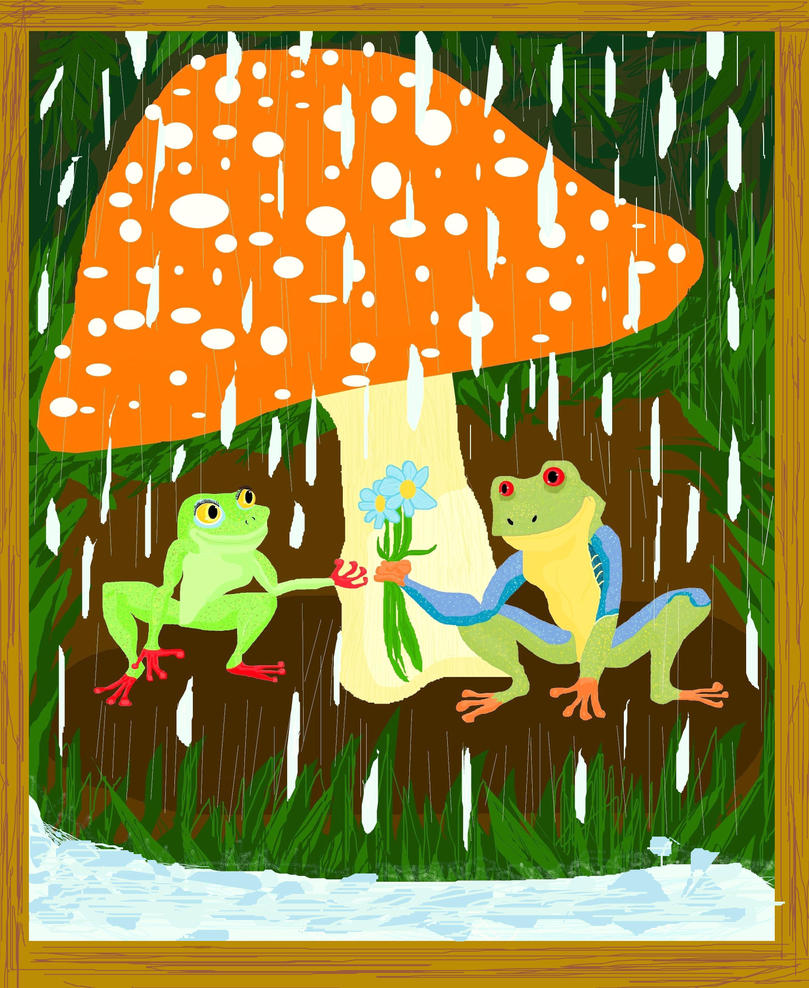 Frogs- Each Small Thing by CrystalMarineGallery