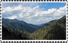 Great Smoky Mountains - Stamp by CrystalMarineGallery