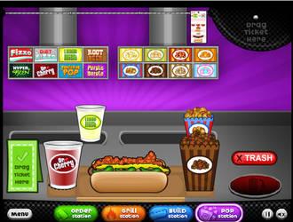 My hot doggeria order by davisgal1