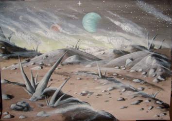 Windy Moon by Tunichtsogut