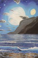 Giant rises on Exomoon shores by Tunichtsogut