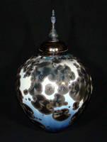 Crystalline lidded urn, 2
