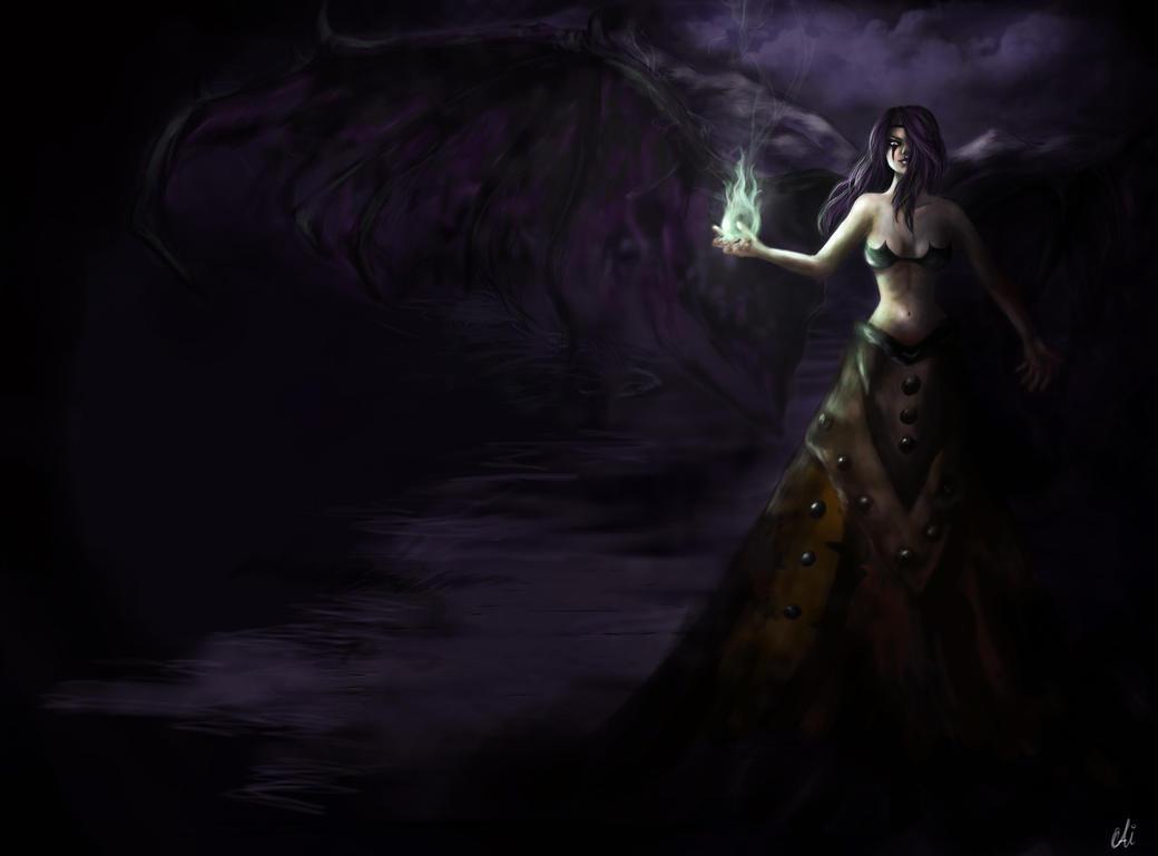 LoL Morgana by AiDerathar