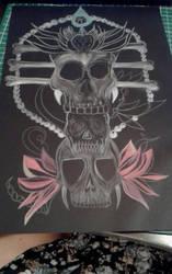 work in progress....pencil/paper/pencil crayon