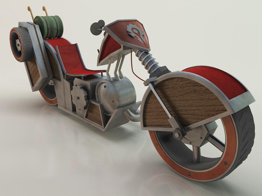 Mechano Hog Chopper Mechano Hog by