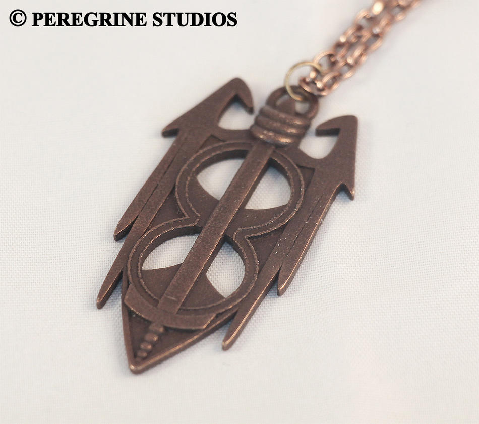Amulet of Akatosh (Stainless Steel) by PeregrineStudios
