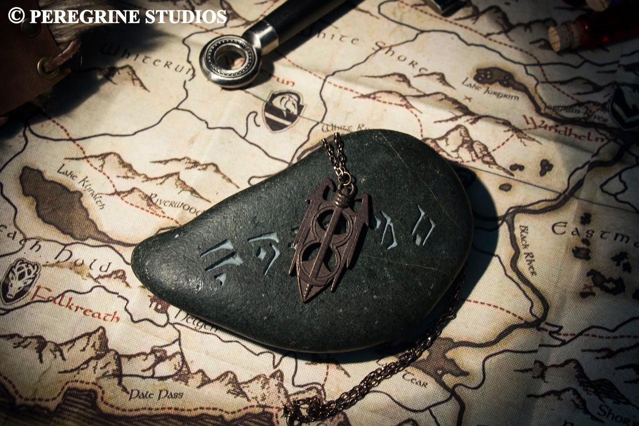 Amulet of Akatosh by PeregrineStudios