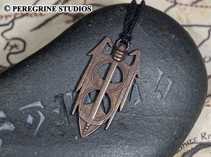 Amulet of Akatosh - Stainless Steel Pendant by PeregrineStudios