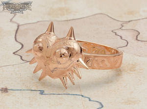 Ring - Majora's Mask (Rose Gold-Plated Brass)