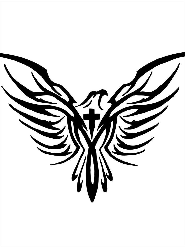 Tattooideas Eagle Cross Tattoo Designs Tattoos