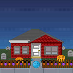 Emote Halloween Street Entry