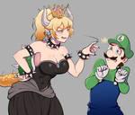bowsette Luigi