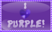 I Love Purple Stamp by VioletDemon