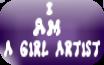 I Am A Girl Artist by VioletDemon