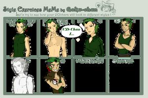 Style Exercise Meme: Jade The Green Demon