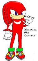 Knuckles The Echidna by Silverfur15
