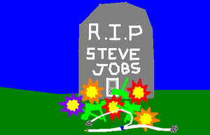 R.I.P Steve Jobs by Silverfur15