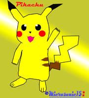 Pikachu by Silverfur15
