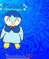 Piplup by Silverfur15