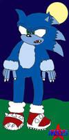 Sonic the Werehog by Silverfur15