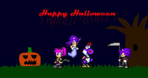 Happy Halloween by Silverfur15