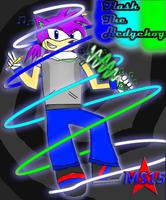 New ID. Flash the Hedgehog by Silverfur15