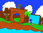 Sonic in Green Hill Zone