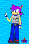 Flash The Hedgehog+New Style+