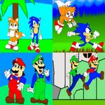 RQ: Mario and Sonic Generation
